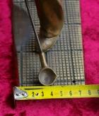 Скульптура Сталевар, материал бронза, высота 39 см., ширина 21 см., длина 9 см., 3 кг.,  - 4