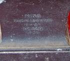 Ленин бюст, материал метал, высота 24 см., ширина 7 см., длина 7 см.  - 4
