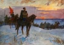 Чапаев В.И. 120-160 холст, масло 1975г.