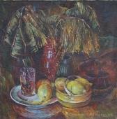 Натюрморт с лимонами 60-60 холст, масло 1981г.