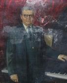 Шостакович Д.Д. 100-80 холст, масло 1982г.