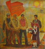 Шевченко 171-155 см. холст масло 1978 г