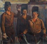 Бригада Чеканова 117-126 холст, масло 1979г.