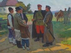 Котовский 119-158 холст, масло