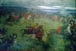 Битва под Желтыми Водами. Холст, масло 1985