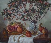 Осенний натюрморт 55-65 холст, масло