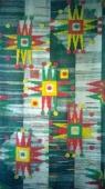 Гобелен. Щедривка, ручное ткачество, шерсть 1978