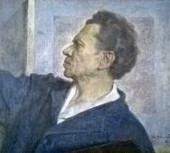 Портрет отца 1982. Холст, масло