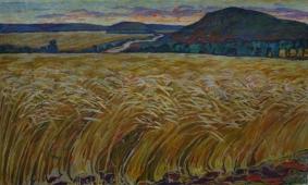 Пшеница 100-170 холст, масло