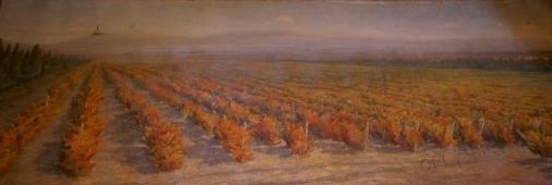 Осень 95-250 холст, масло 1961г.
