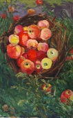 Спелые яблоки 80-50 картон, масло