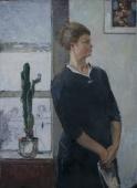 Портрет проф. Шутовой  Н.Т. 136-99 холст, масло 1967г.