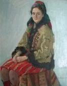 Портрет Елены Дорожко 1972. Холст, масло
