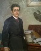 Художник В.Ф. Коренев 1900. Холст, масло.