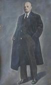 Портрет В.И. Ленина  200-115 см. холст масло 1968г.
