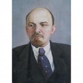 Ленин 50-70 холст на картоне, масло 1972г.