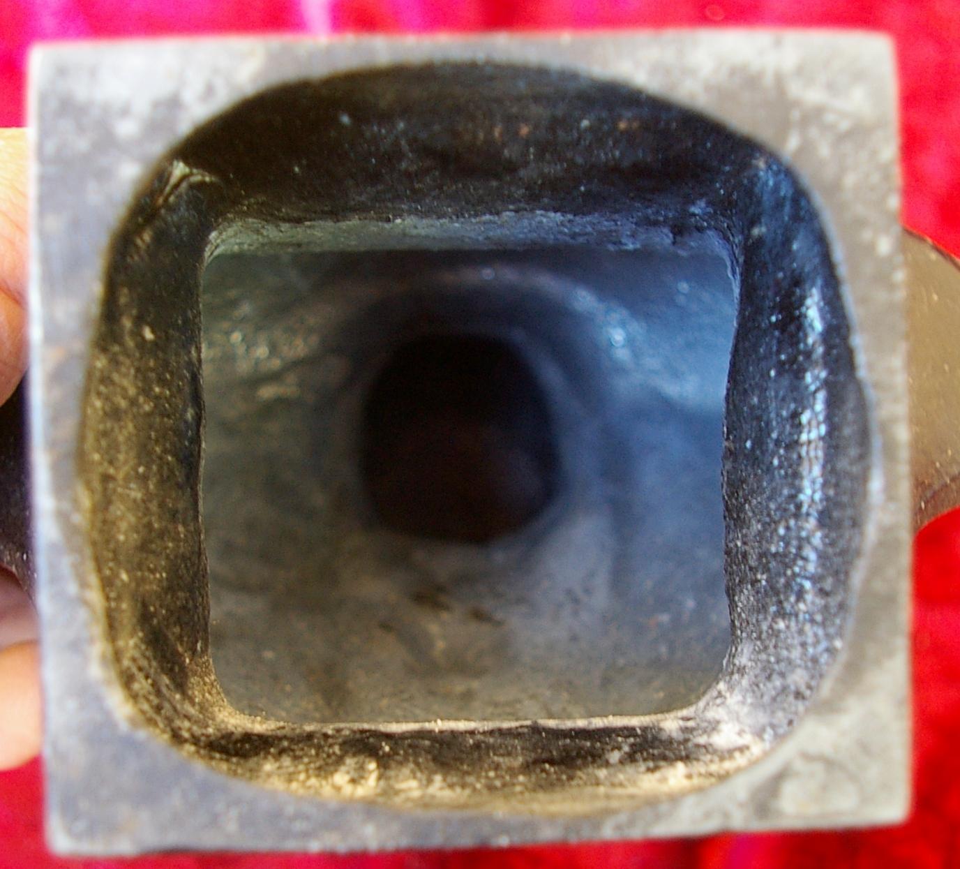 Ленин бюст, материал метал, высота 24 см., ширина 7 см., длина 7 см.  - 5