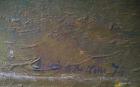 Осенний вечер 23-70 см., картон, масло 1974 год  - 1