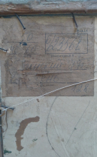 Рубиский И.П.Осень 40-60 см., картон, масло 1975 год - 1