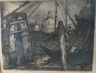 Санта Мария делла Санта 35-45 см., бумага, гравюра 1962 год - 1