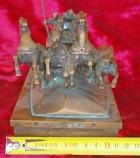 Скульптура Тачанка, материал бронза, высота 14 см., ширина 24 см., длина 11 см. - 8