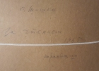 За чтением 40-60 см., бумага, карандаш 1965 год  - 2