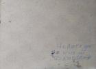 Непогода 34-28 см., картон, масло 1982 год - 1