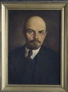 Ленин 70-50 см., холст, масло  1975 год  - 1