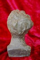 Скульптура Есенин, материал метал, высота 21 см., ширина 10 см., длина 6 см. - 2