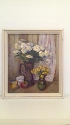 Цветы 54-48 см. холст, масло 1997 - 1