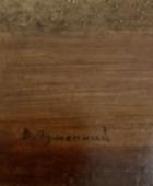 Яблоко Адама 36-31,5 см., холст, масло  - 1