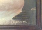 Морской пейзаж 32-58 см., холст, масло 1992 год  - 2