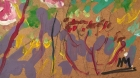 Цвет укропа 65 -50 см., картон, масло 2006 год - 1