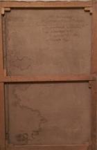 На большой стройке 110-150 см., картон, масло 1980   - 1