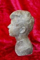 Скульптура Есенин, материал метал, высота 21 см., ширина 10 см., длина 6 см. - 1