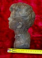 Скульптура Есенин, материал метал, высота 21 см., ширина 10 см., длина 6 см. - 8