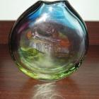 В том домике на краю села 40-40-15 см., гутное стекло 1986  - 1