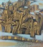 Берегиня 70-80 см., холст, масло 1999-2000 года  - 1