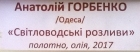 Светловодские разливы 2017. Холст, масло. - 1