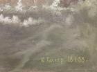 Гуллер Ю. Буря в море, как стол,холст, масло 1953  - 2