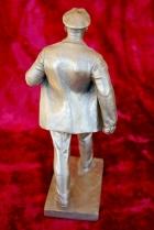 Скульптура Ленин, материал метал, высота 26 см., ширина 7 см., длина 11 см.  - 3