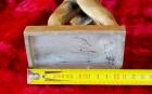 Скульптура Ленин, материал метал, высота 26 см., ширина 7 см., длина 11 см.  - 5