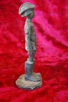 Скульптура Мальчик, материал бронза, высота 19 см., ширина 6 см., длина 6 см. - 2