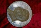 Барельеф Сталин, материал метал, ширина 24 см. - 1