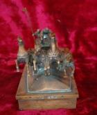 Скульптура Тачанка, материал бронза, высота 14 см., ширина 24 см., длина 11 см. - 1
