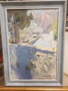 Гурзуф 48-33 см., картон, масло 1963 год - 2