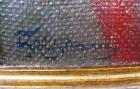 Козак 50-40 см., холст, масло  - 2