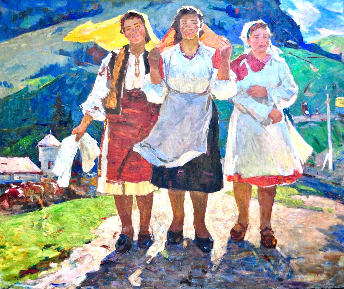 Картинки по запросу буковинские доярки художник