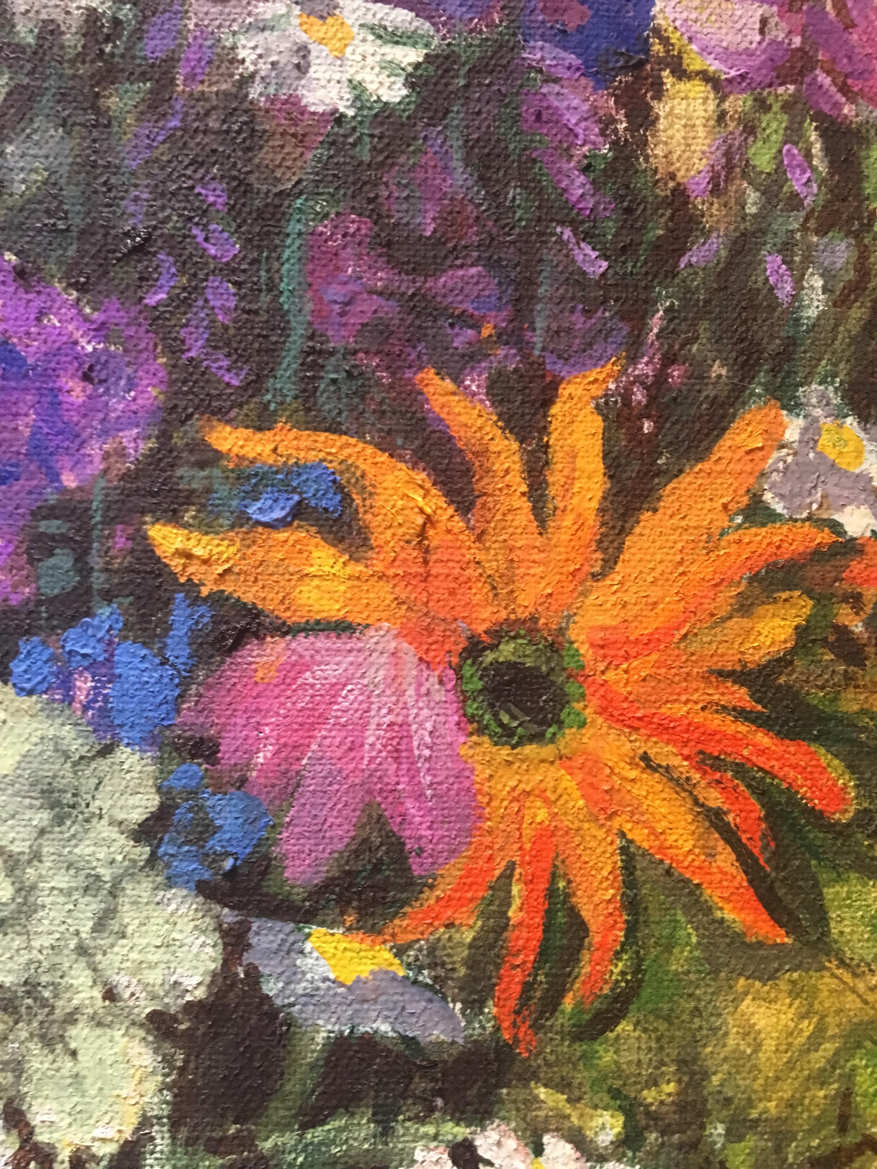 Цветочный натюрморт 66-88 см., холст, масло, 2003 год  - 4