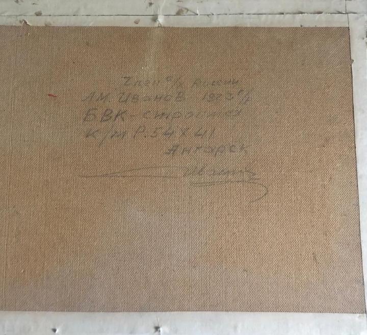 БВК-Сройка 54-41 см., картон, масло - 2